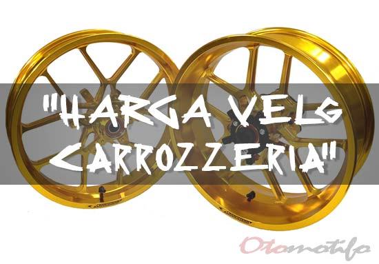 Harga Velg Motor Carrozzeria