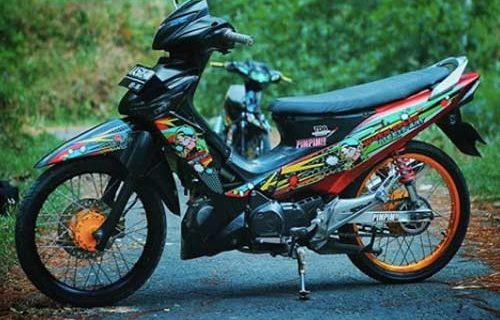 Supra X 125 Modif Touring