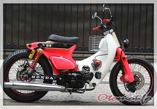 Gambar Modifikasi Honda C70 Racing