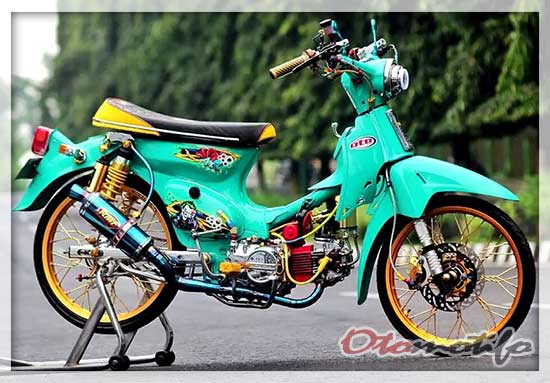 Modifikasi Honda C70 Thailook