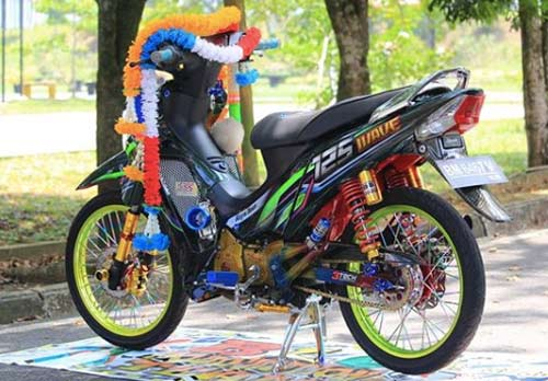 Modifikasi Motor Supra X 125 Thailook