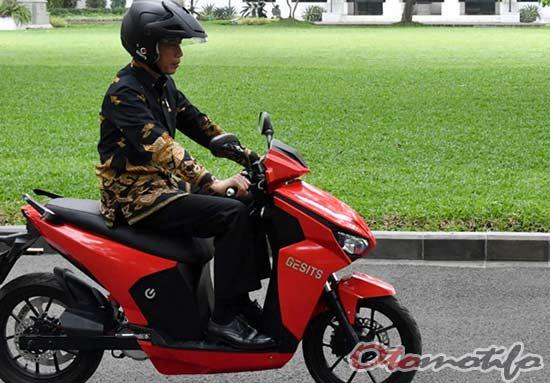 Motor Gesits Jokowi