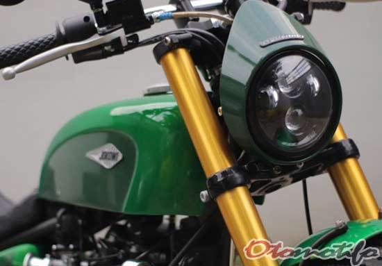 Detail Motor Custom Jokowi