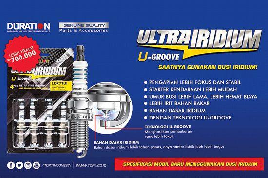 Rekomendasi Busi Terbaik Buat Mobil dan Motor Duration Ultra Iridium-1