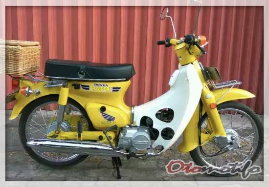 Restorasi Honda C70 Original