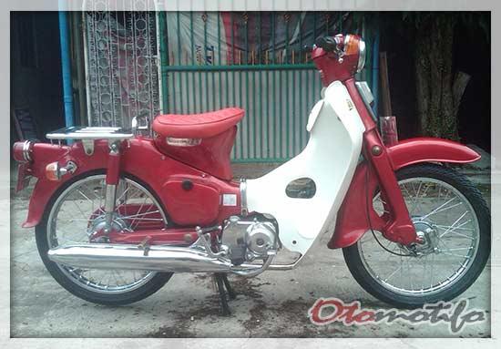 Restorasi Honda C70 Pispot