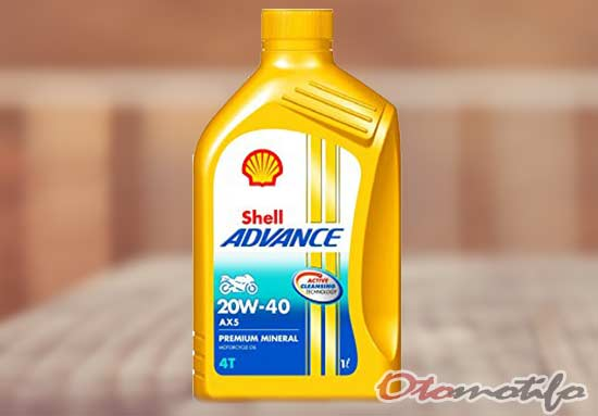 Shell Advance 4T AX5 Scooter 20W-40