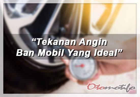 Tekanan Ban Mobil