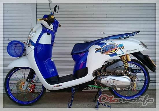 Foto Modifikasi Honda Scoopy