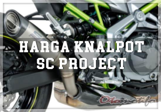 Harga Knalpot SC Project