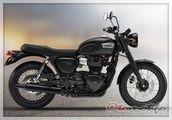 Harga Triumph Bonneville T100 Black