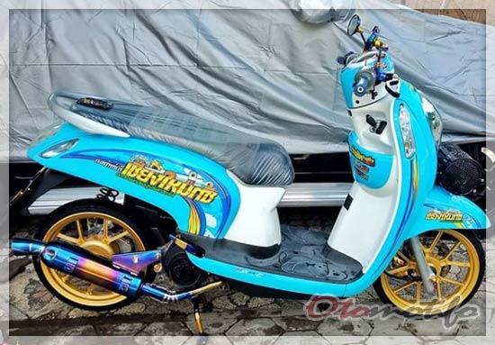 Honda Scoopy Babylook Style