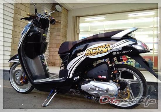 Modif Honda Scoopy Simple
