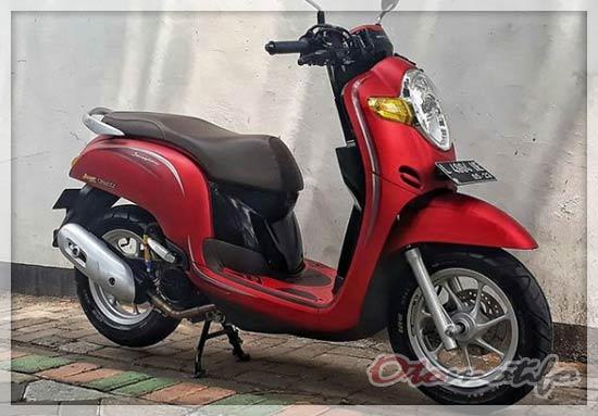 Modifikasi Ban Honda Scoopy