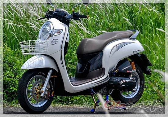 Modifikasi Honda Scoopy Simple