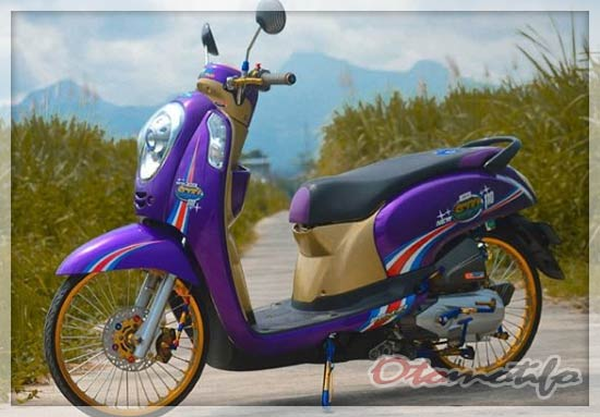 Modifikasi Scoopy Babylook