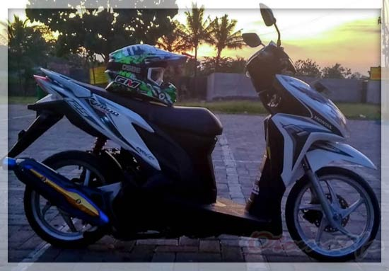 Modifikasi Vario 125 Babylook