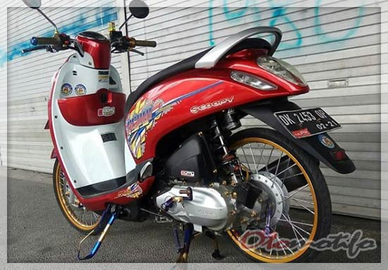 Scoopy Modif Thailook