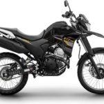 Warna Yamaha XTZ 250 Hitam