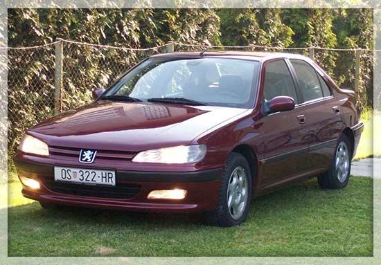 Gambar Peugeot 406