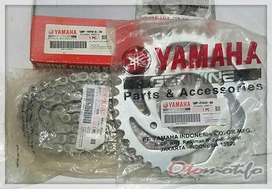 Harga Rantai Motor Yamaha Genuine