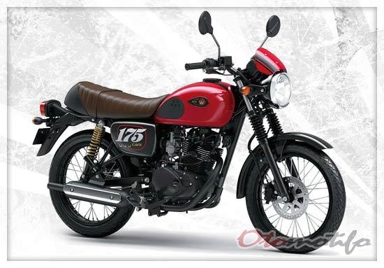 Spesifikasi dan Harga Kawasaki W175 Cafe