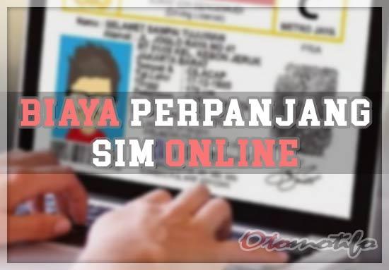 Biiaya Perpanjang SIM Online