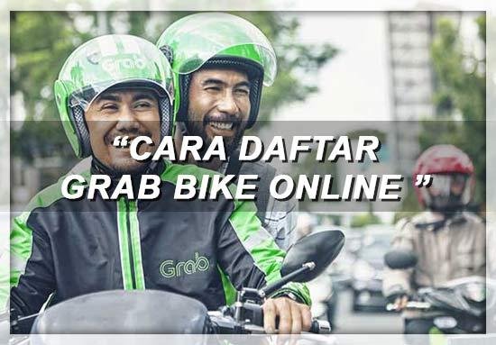 Cara Daftar Grab Bike Online