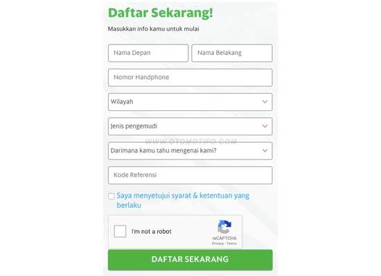 Cara Daftar Grab 2021 Online Dan Langsung Terbaru Otomotifo