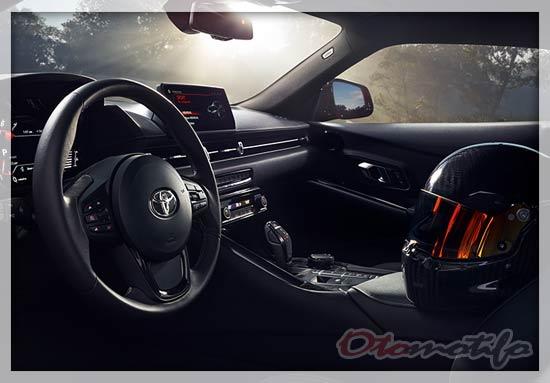 Gambar Interior Toyota Supra