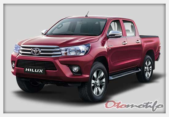 Harga Mobil Pick Up Toyota Double Cabin