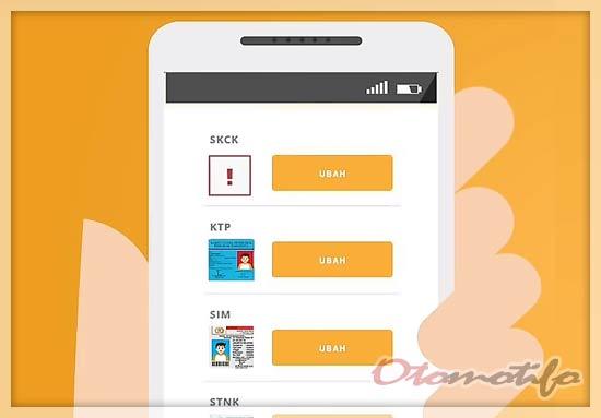 Re-Upload Berkas Pendaftaran Gojek