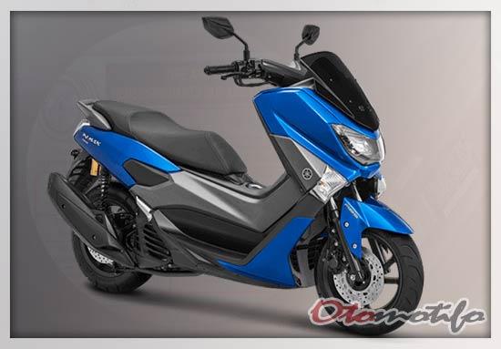 Warna Motor NMAX Biru