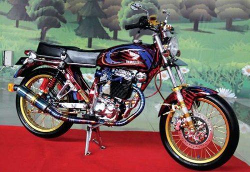 Harga Honda Cb 100 Motor Dilan Yang Klasik Dan Retro Abis