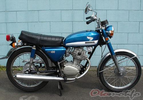 Gambar Motor Honda CB 100