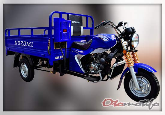 Harga Motor Roda Tiga Nozomi Azabu 200
