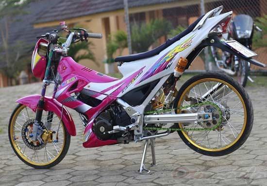 Foto Modifikasi Satria FU Thailook