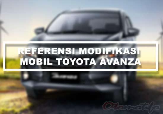 Gambar Modifikasi Mobil Toyota Avanza