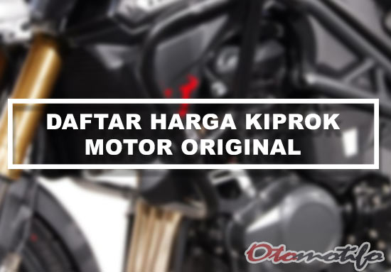 Harga Kiprok Motor Original