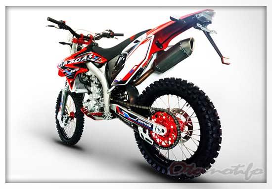 Harga Motor Gazgas GXE 450