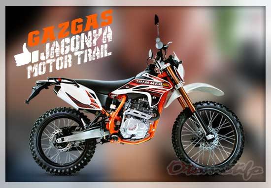 Harga Motor Trail Gazgas