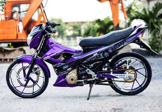 Modifikasi Satria FU Simple