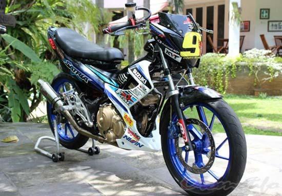 Satria FU Modif Road Racer