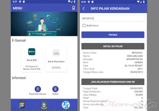 Cara Cek Plat Motor Riau