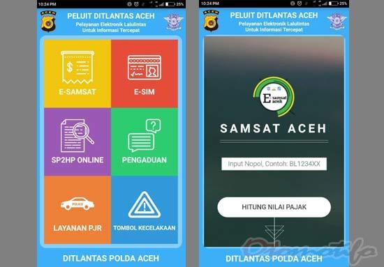 Cek Plat Nomor Mobil Aceh