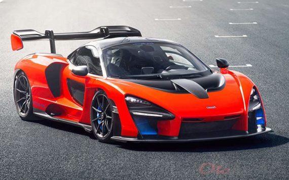 Mobil McLaren Senna