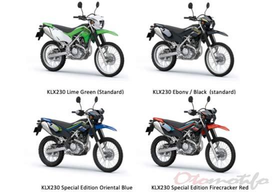 Pilihan Warna KLX 230