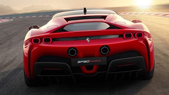 Desain Ferrari SF90 Stradale