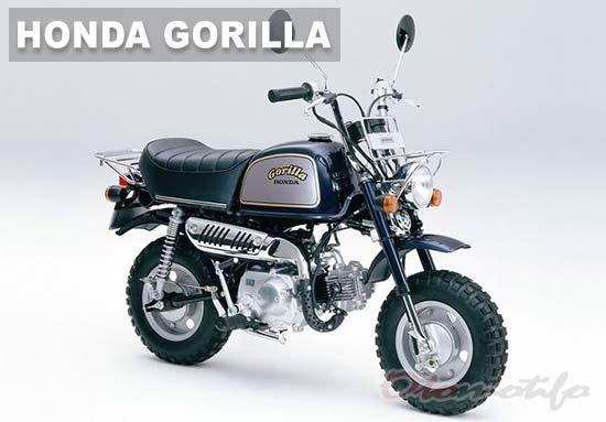 Gambar Honda Gorilla