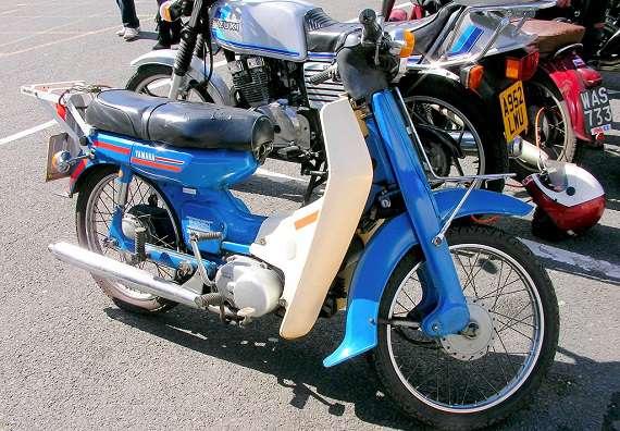 Gambar Motor Yamaha V50 Restorasi